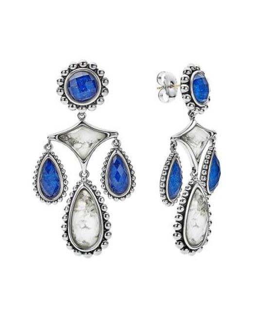 Lagos - Blue Maya Chandelier Earrings - Lyst
