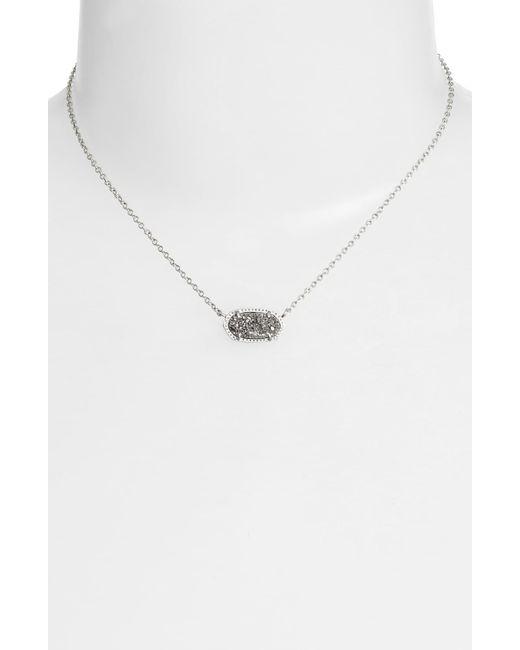 1678f1847 Kendra Scott Metallic Elisa Pendant Necklace Kendra Scott Metallic Elisa  Pendant Necklace