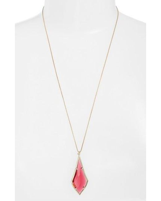 Kendra Scott | Metallic Damon Pendant Necklace | Lyst