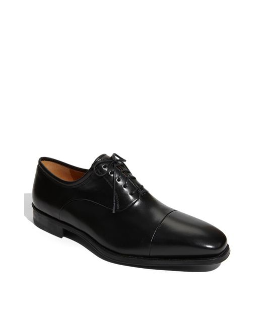 Magnanni Shoes Black 'federico' Oxford for men