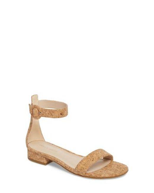 Pelle Moda - Natural Newport Sandal - Lyst