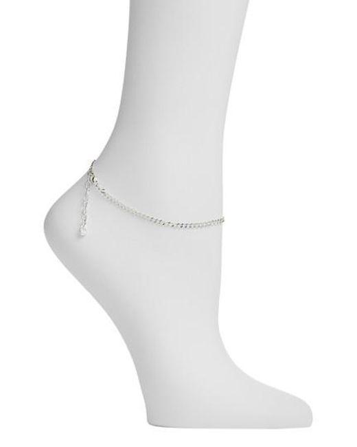 Argento Vivo - Metallic Link Anklet - Lyst