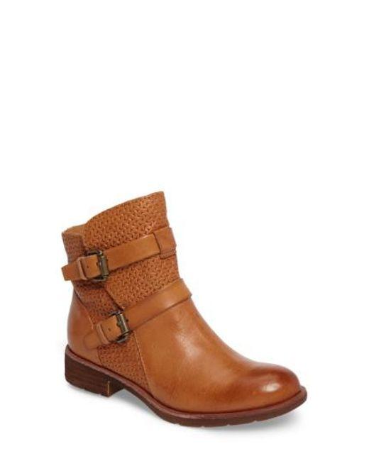Söfft | Brown Baywood Buckle Boot | Lyst