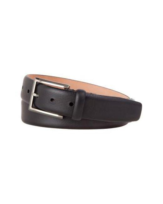 Tommy Bahama - Black Leather Belt for Men - Lyst