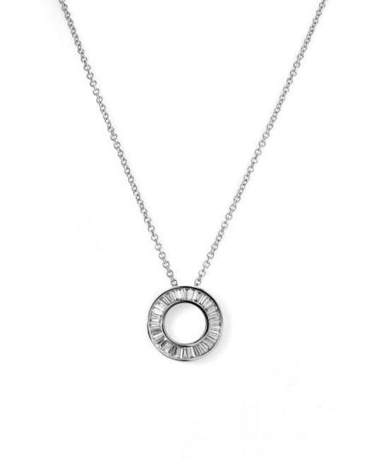 Bony Levy - Metallic 'circle Of Life' Small Diamond Pendant Necklace (nordstrom Exclusive) - Lyst