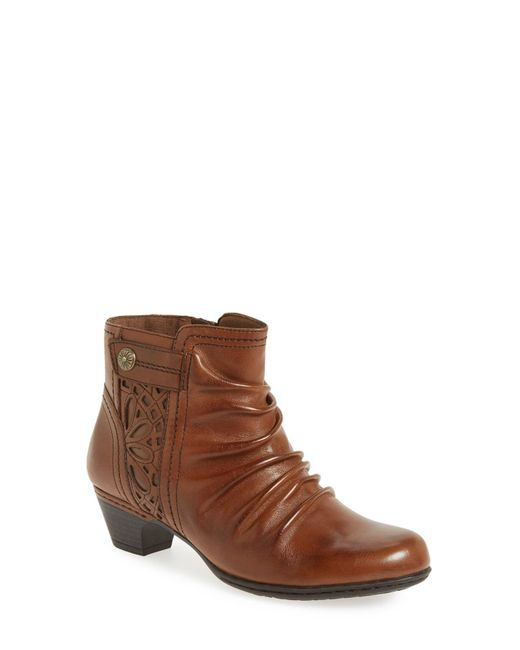 Cobb Hill - Brown 'abilene' Bootie - Lyst