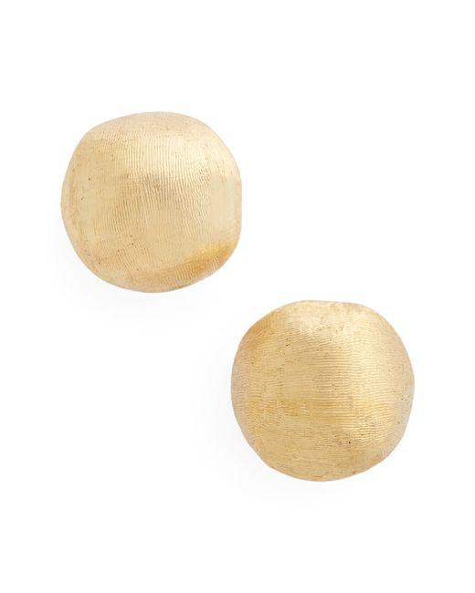 Marco Bicego Metallic 'africa Gold' Nugget Earrings