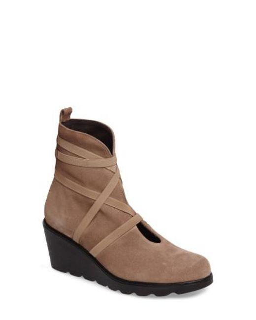 Toni Pons   Brown Blanca Wedge Boot   Lyst