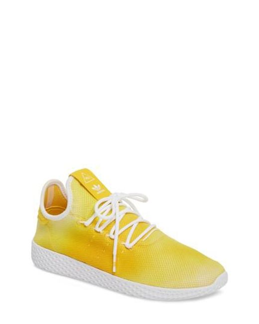 e7adf2478 Lyst - adidas Pw Tennis Hu C in Yellow for Men - Save 67%