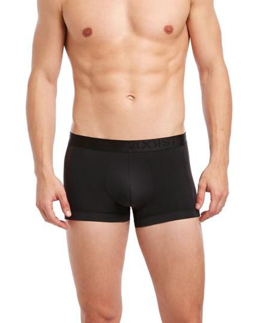 2xist - Black Air Luxe No-show Trunks for Men - Lyst