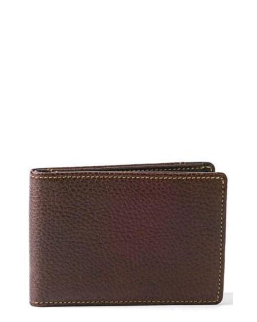 Boconi | Brown 'tyler' Rfid Slimster Wallet for Men | Lyst