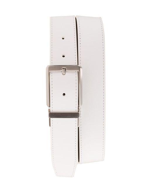 Nike White 'core' Reversible Leather Belt for men