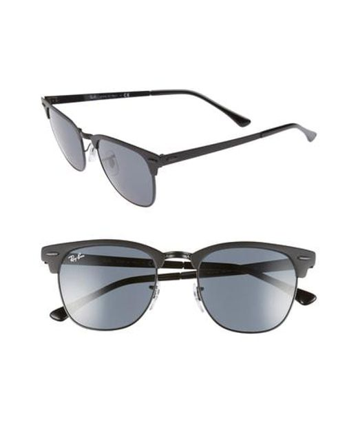 7edfe60aec5 Lyst - Ray-Ban Icons 51mm Browline Sunglasses - in Gray for Men