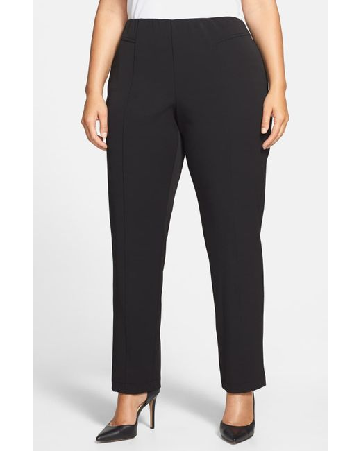 Vince Camuto Gray Seam Detail Pants
