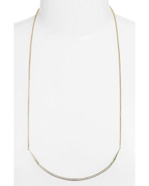 Kendra Scott   Metallic 'scottie' Pendant Necklace   Lyst