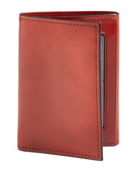 Bosca Brown 'old Leather' Trifold Wallet for men