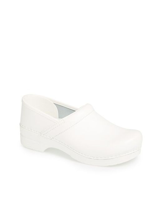 Dansko | White 'professional' Slip-on for Men | Lyst