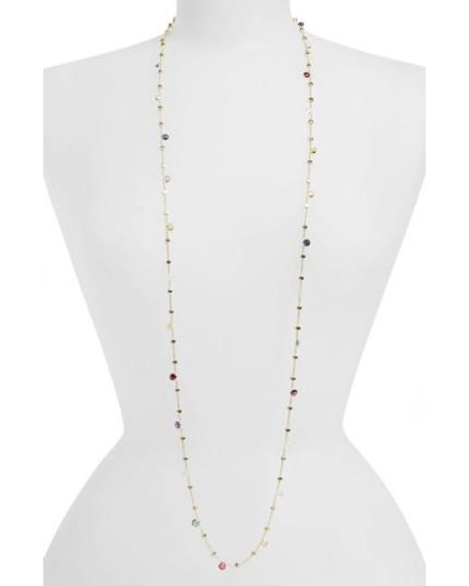 Marco Bicego   Yellow 'paradise' Semiprecious Stone Long Necklace   Lyst