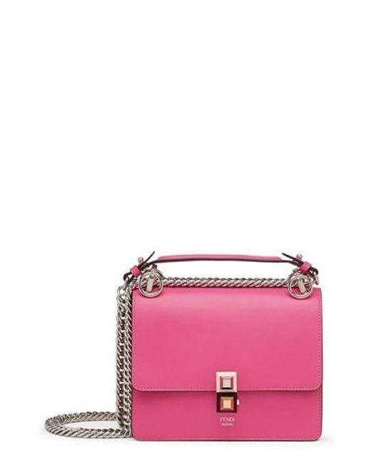Fendi | Multicolor Small Kan I Leather Shoulder Bag | Lyst
