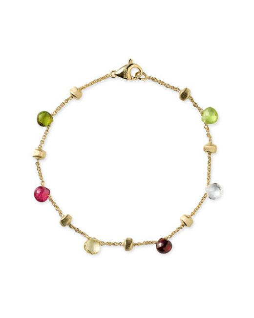 Marco Bicego | Yellow 'paradise' Single Strand Bracelet | Lyst