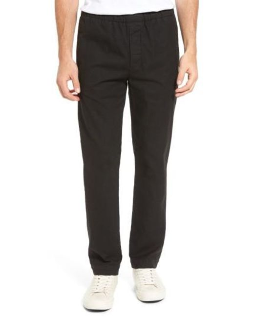 James Perse | Black Relaxed Pants for Men | Lyst