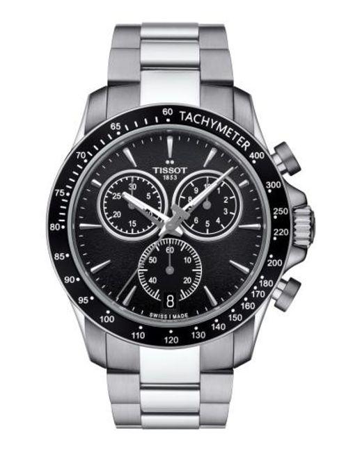 Tissot   Metallic V8 Chronograph Bracelet Watch for Men   Lyst
