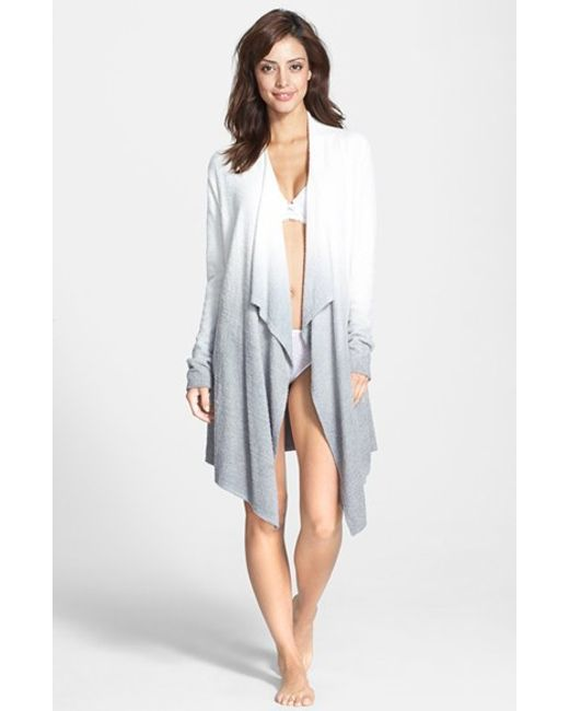 Barefoot Dreams | White Barefoot Dreams Cardigan | Lyst