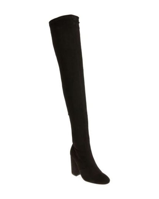 Tony Bianco - Black Athens Over The Knee Boot - Lyst