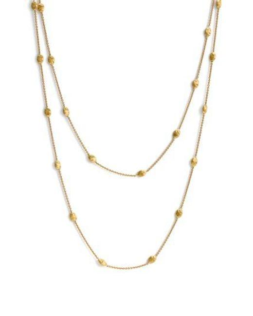 Marco Bicego | Metallic 'siviglia' Long Necklace | Lyst