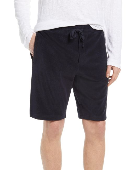 Vince Blue French Terry Shorts for men