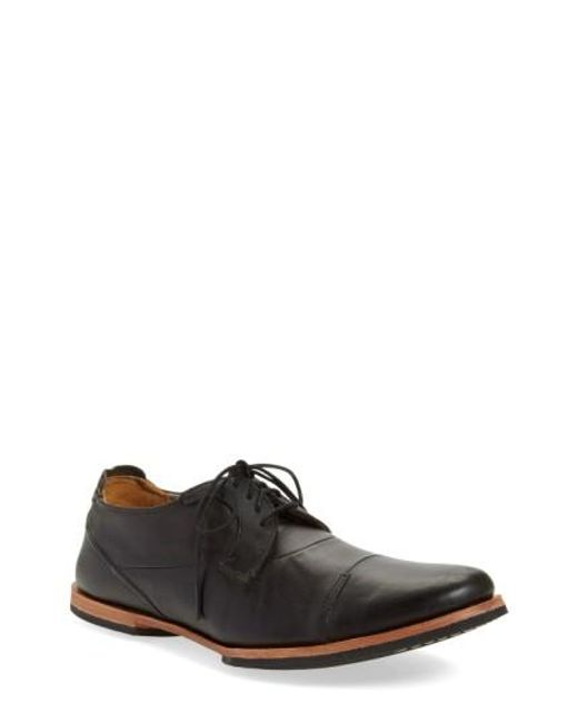 Timberland   Black 'wodehouse Lost History' Cap Toe Oxford for Men   Lyst