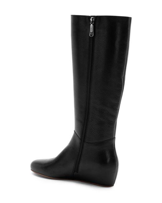d36deecce99b ... Blondo - Black Monica Waterproof Knee High Wedge Boot - Lyst