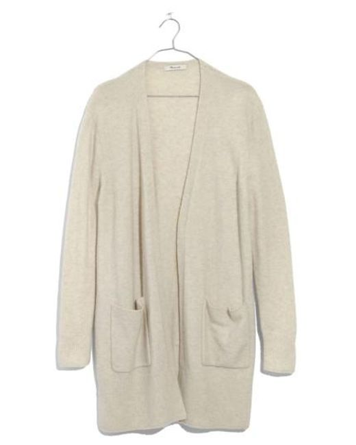 Madewell - Natural Kent Cardigan Sweater - Lyst
