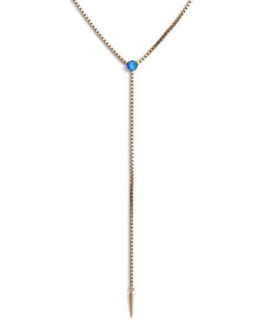 Loren Hope | Multicolor Mallory Y-necklace | Lyst