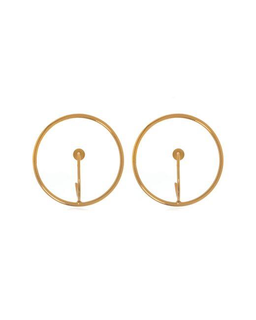 Anuja Tolia - Metallic Circle Drop Earrings - Lyst