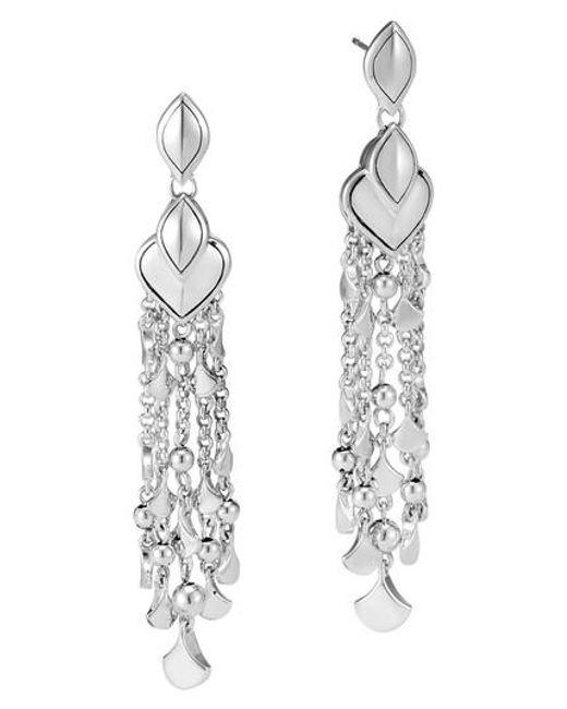 John Hardy Legends Naga Chandelier Earrings with Diamonds 9zowcTb