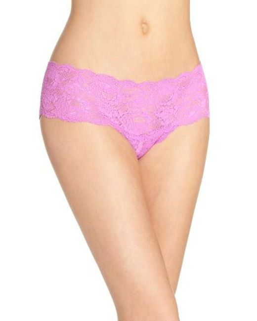 Cosabella | White 'never Say Never' Hipster Briefs | Lyst