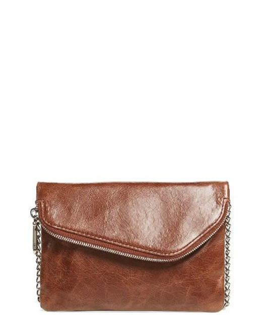Hobo | Blue 'daria' Leather Crossbody Bag | Lyst
