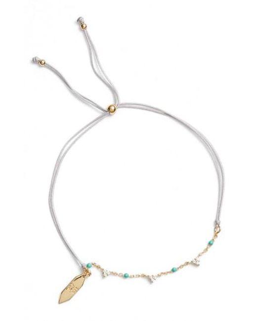 Argento Vivo - Multicolor Vermeil & Enamel Bead Bracelet - Lyst