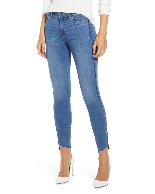 PAIGE Blue Transcend Vintage - Verdugo Ankle Skinny Jeans