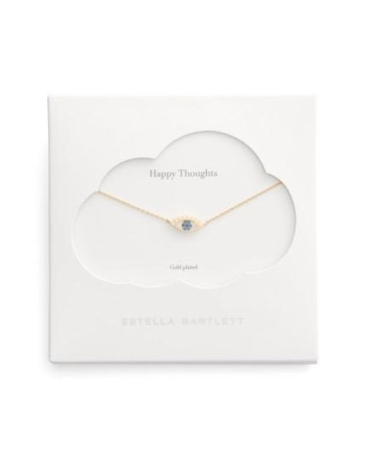 Estella Bartlett | Metallic Happy Thoughts Eye Pendant Necklace | Lyst