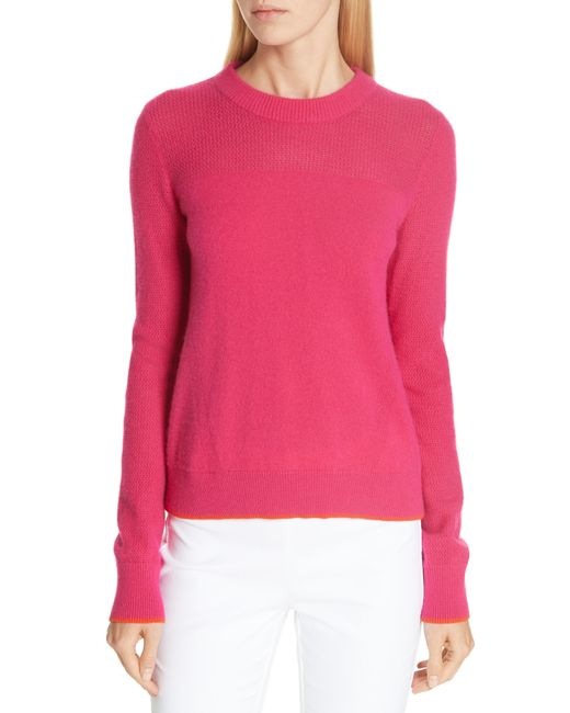 Rag & Bone - Pink Yorke Cashmere Sweater - Lyst