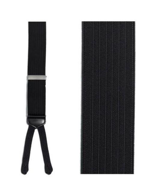 Trafalgar | Black 'formal Regal' Suspenders for Men | Lyst