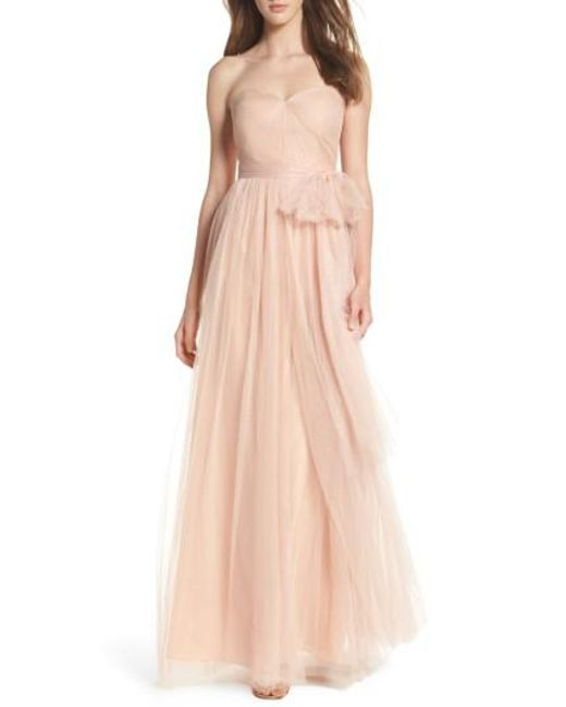 Jenny Yoo - Pink Annabelle Tulle Gown - Lyst