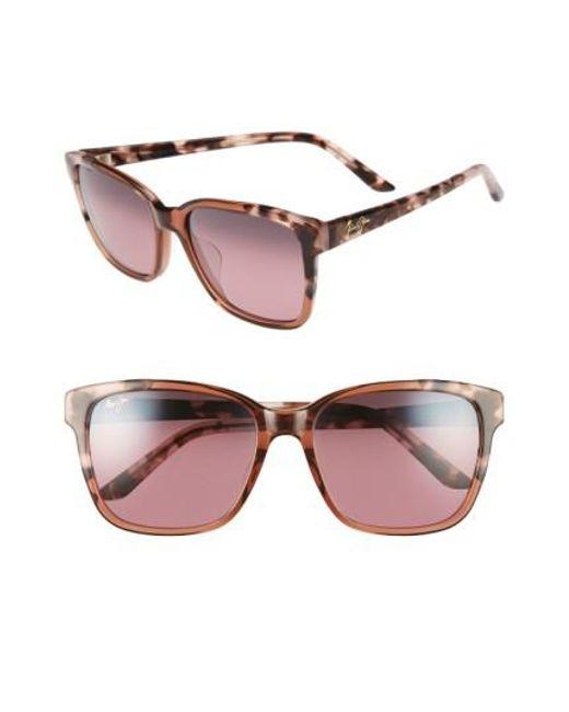 Maui Jim | Pink Moonbow 57mm Polarizedplus2 Sunglasses | Lyst