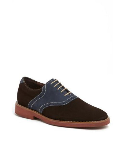 Neil M | Brown 'stanford' Saddle Shoe for Men | Lyst