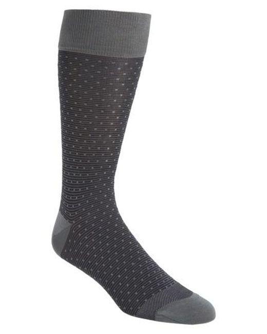 Calibrate | Black Dot Socks for Men | Lyst