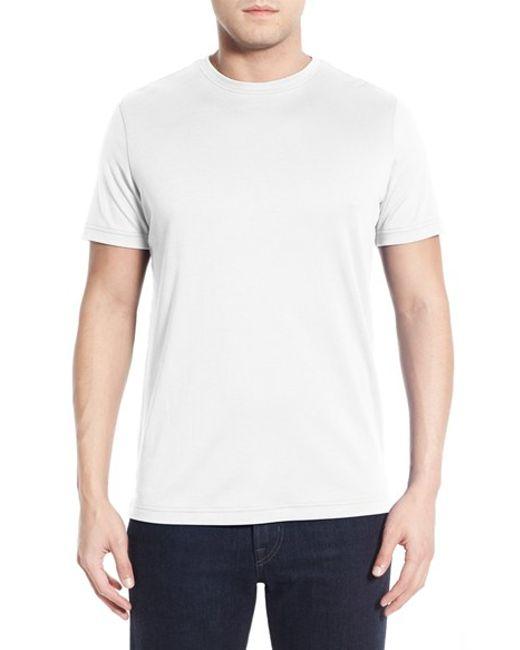 Robert Barakett | White 'georgia' Crewneck T-shirt for Men | Lyst
