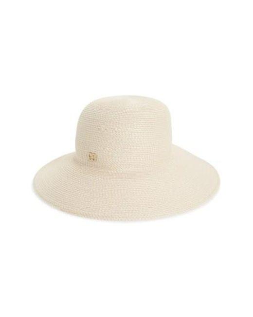 Eric Javits   Natural 'squishee Iv' Wide Brim Hat   Lyst