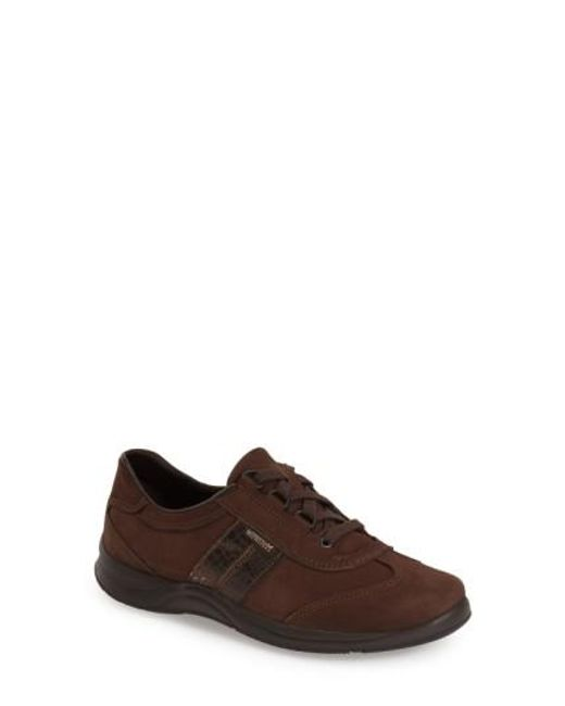 Mephisto   Brown Laser Walking Shoes   Lyst